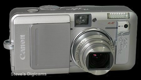 Click to take a QuickTime VR tour of the Canon Powershot S60