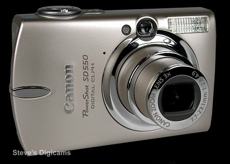Click to take a QuickTime VR tour of the Canon Powershot SD550 Digital ELPH