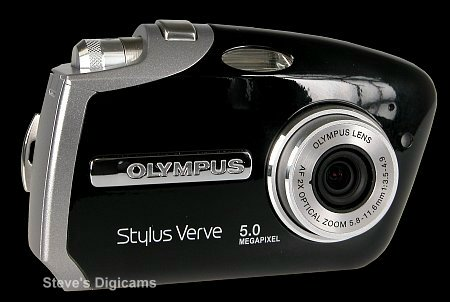 Click to take a QuickTime VR tour of the Olympus Stylus Verve S