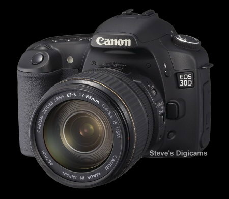 Click to take a QuickTime VR tour of the Canon EOS 30D SLR.