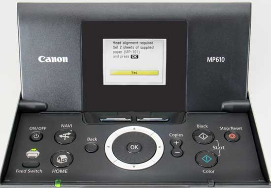 how to change readout on hp printer screen to manual