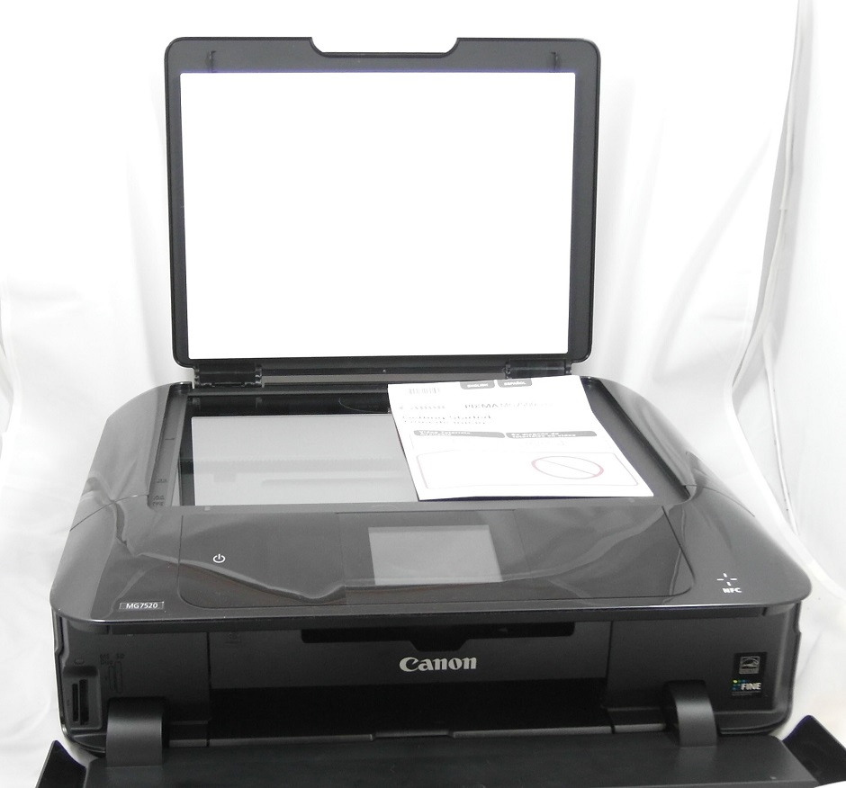 MG7520 scanner bed