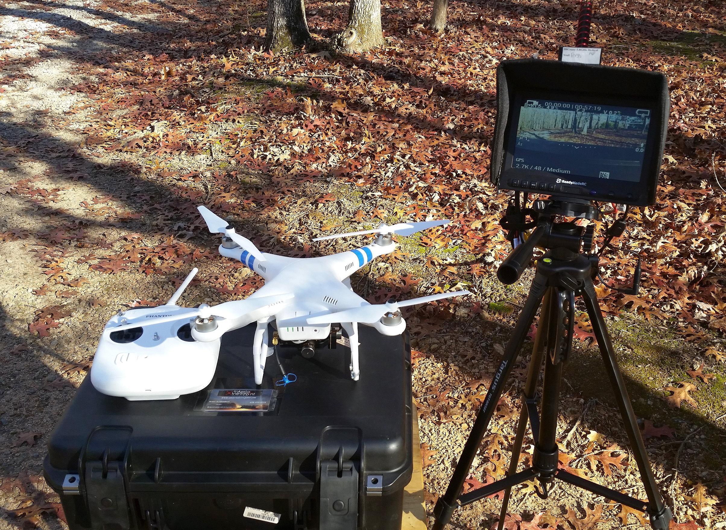 The Authors Basic Aerial Video Setup Featuring DJIs Phantom 2 And GoPro HERO4 Black