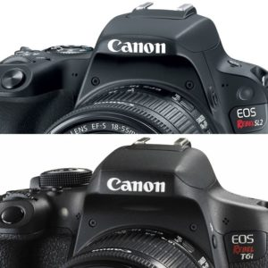 Canon SL2 vs Canon T6i featured image