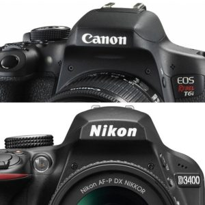 Canon T6i vs Nikon D3400 featured image