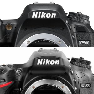 Nikon D7500 vs Nikon D7200 featured image
