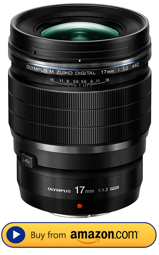 Click HERE to buy the Olympus 17mm F1.2 PRO lens on Amazon.com!