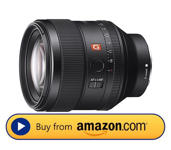 Sony 85mm F1.4GM Product Image