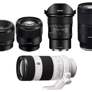 Starter Lenses for Your Sony Full Frame