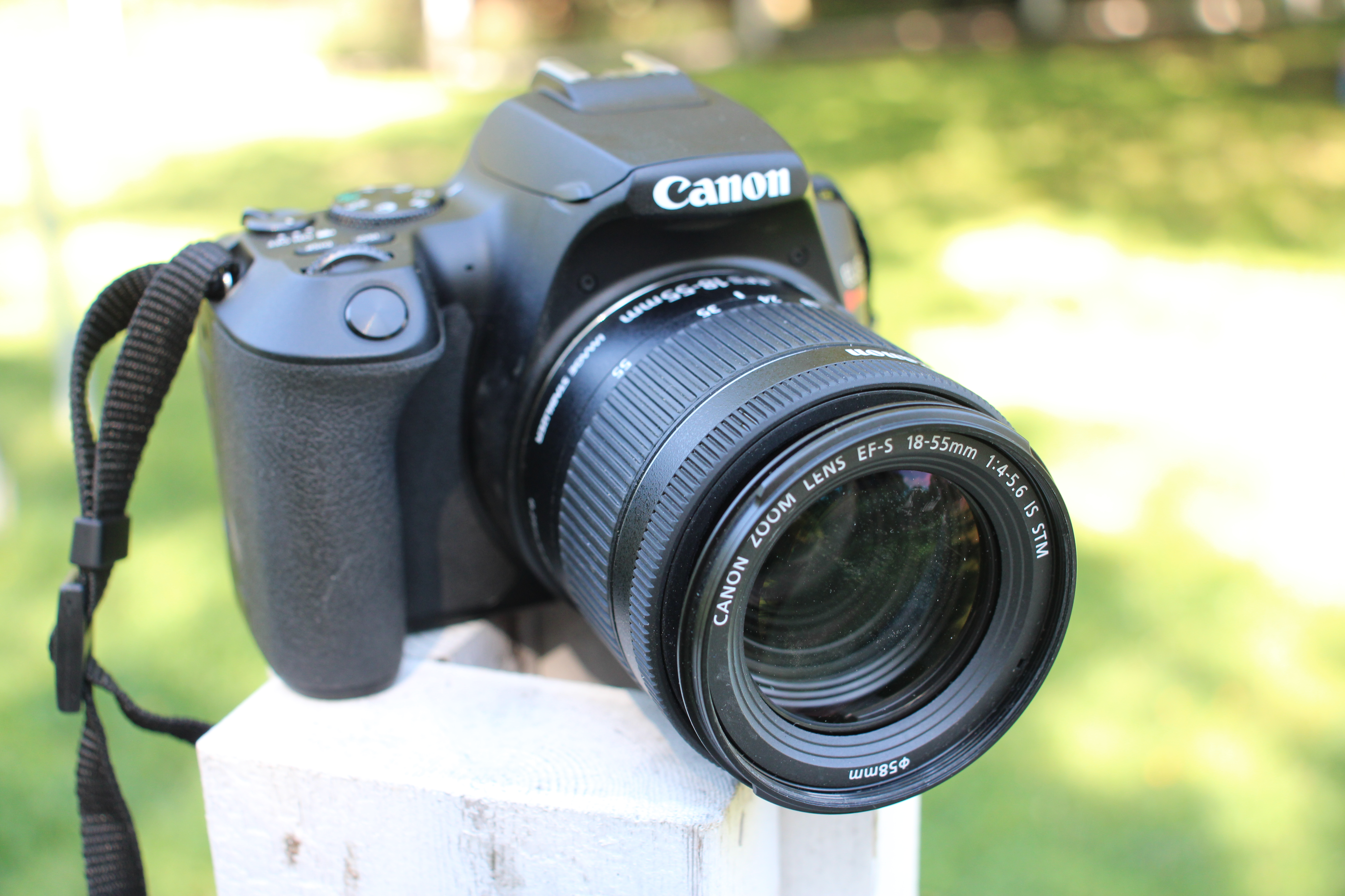 Canon SL3 front view