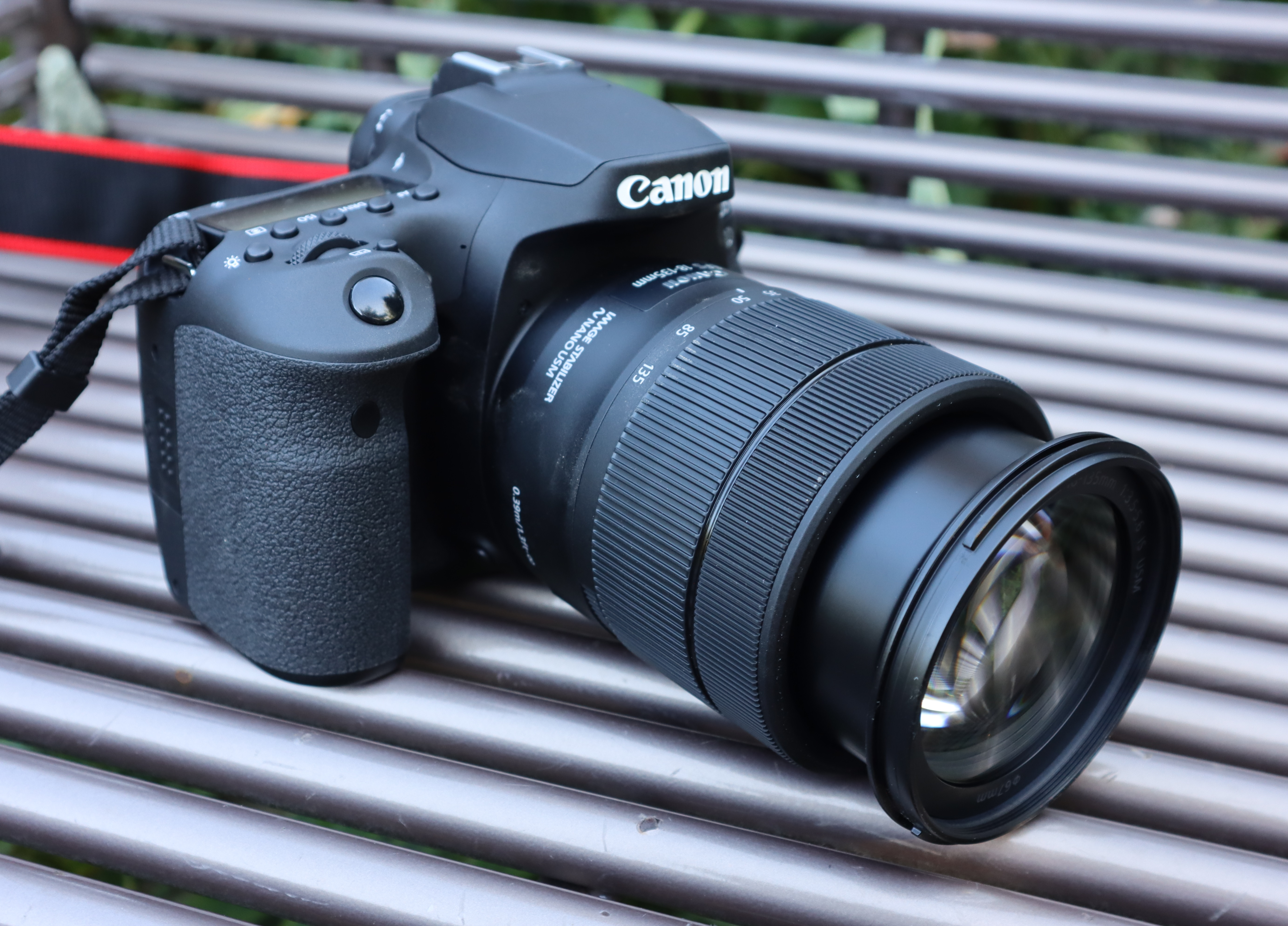 Canon 90D DSLR three-quarters right side