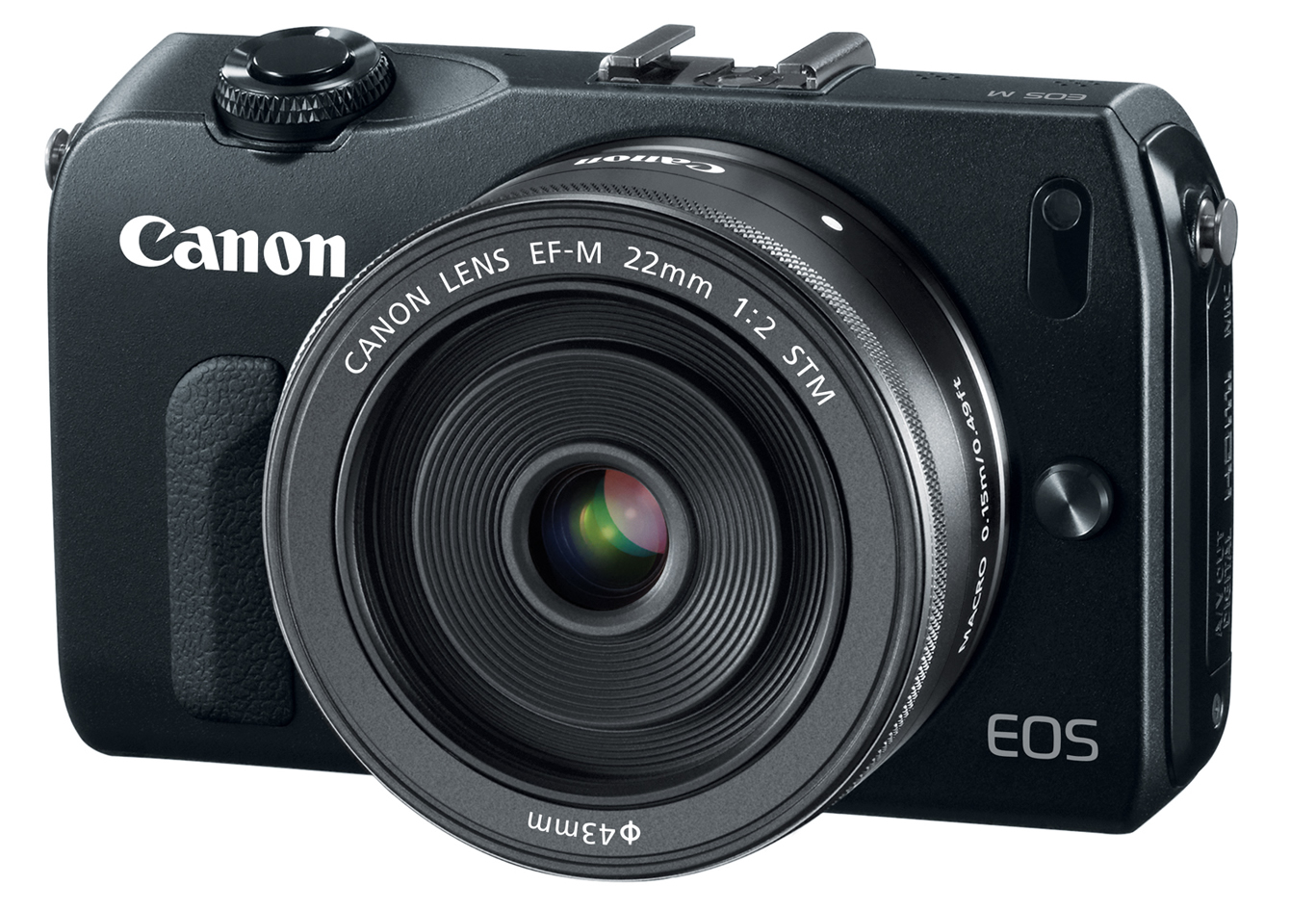 Canon EOS M Review: Overview - Steves Digicams