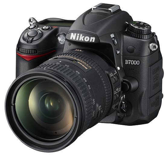 one of their most impressive DX-format dSLRs to date, the Nikon D7000.