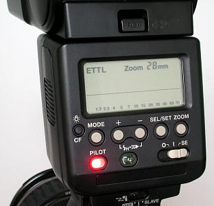 Canon EOS D60 with Canon 550EX speedlight, image (c) 2002 Steve's Digicams