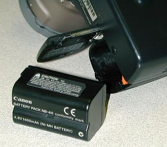 Canon PS Pro 70 battery pack
