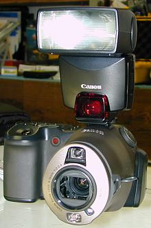 Canon PS Pro 70 with 380EX Speedlight
